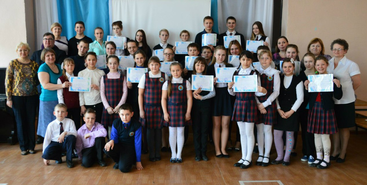 День защиты проектов в Кикеринской школе 2016