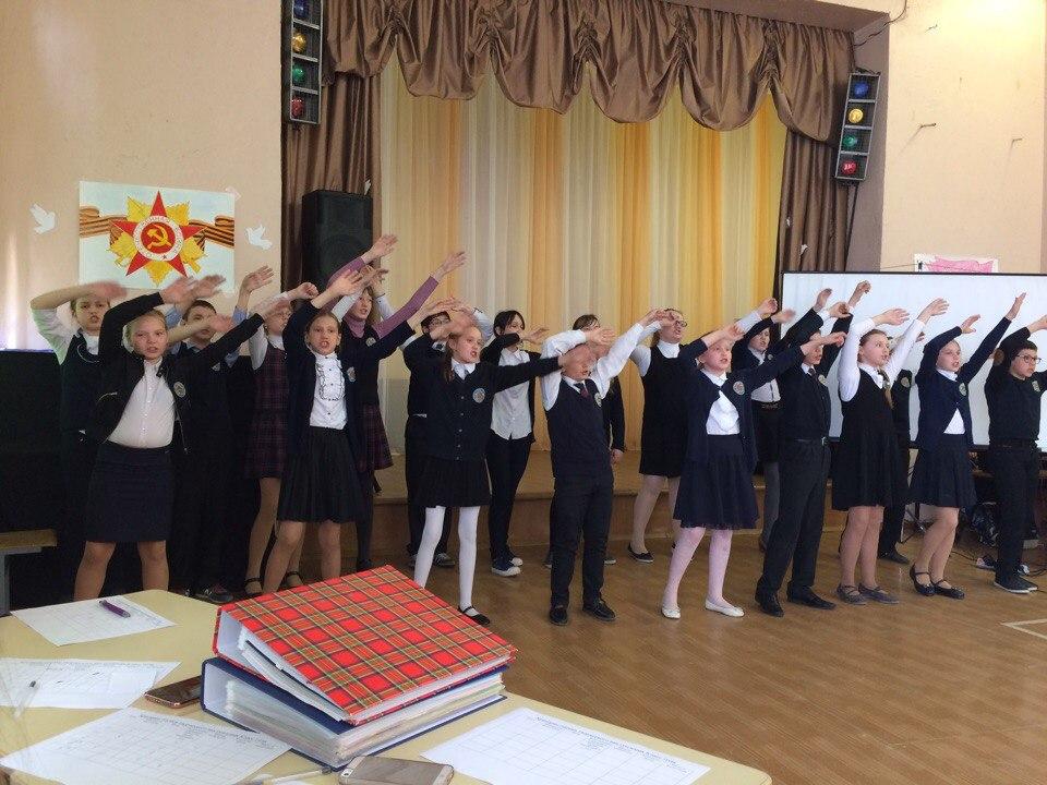 """Смотр- конкурс """"Класс года 2017"""". Кикеринская школа"""