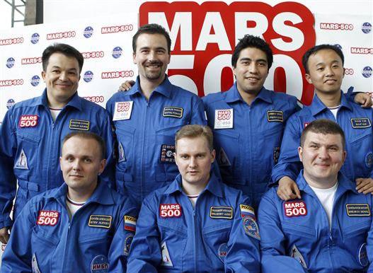 """Встреча с участником проекта """"Марс 500"""""""