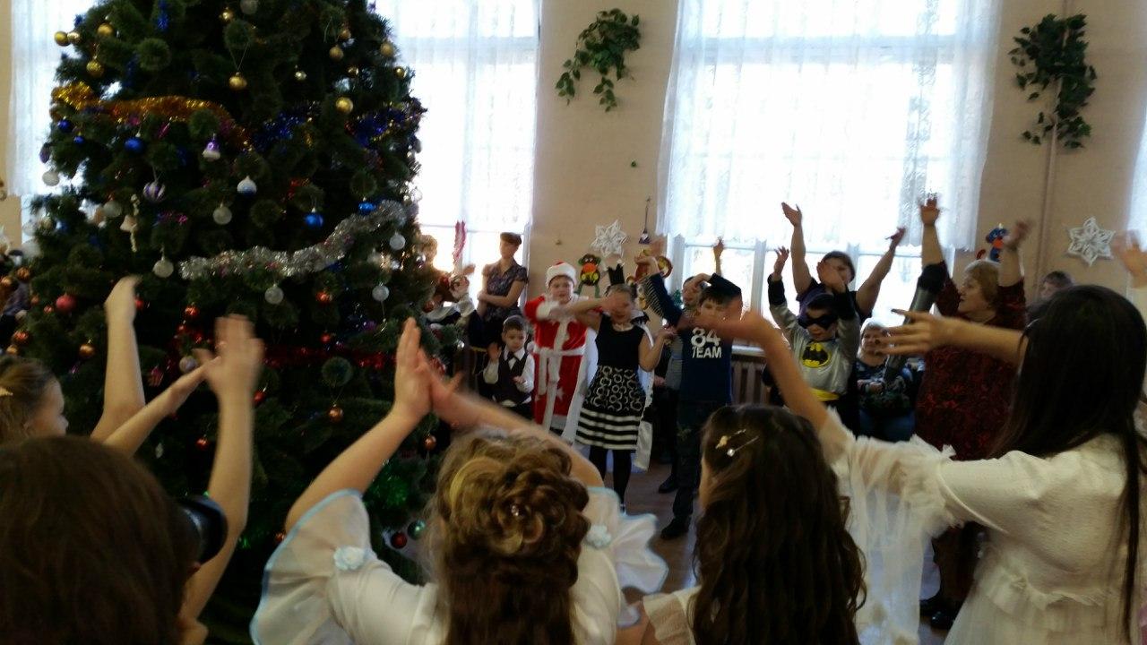 Новый год в Кикеринской СОШ 2016
