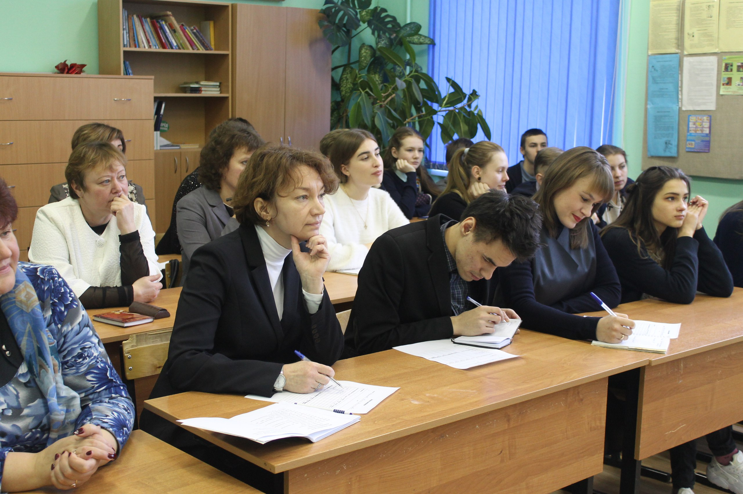 Семинар учителей истории и обществознания Волосовского района на базе Кикеринской школы