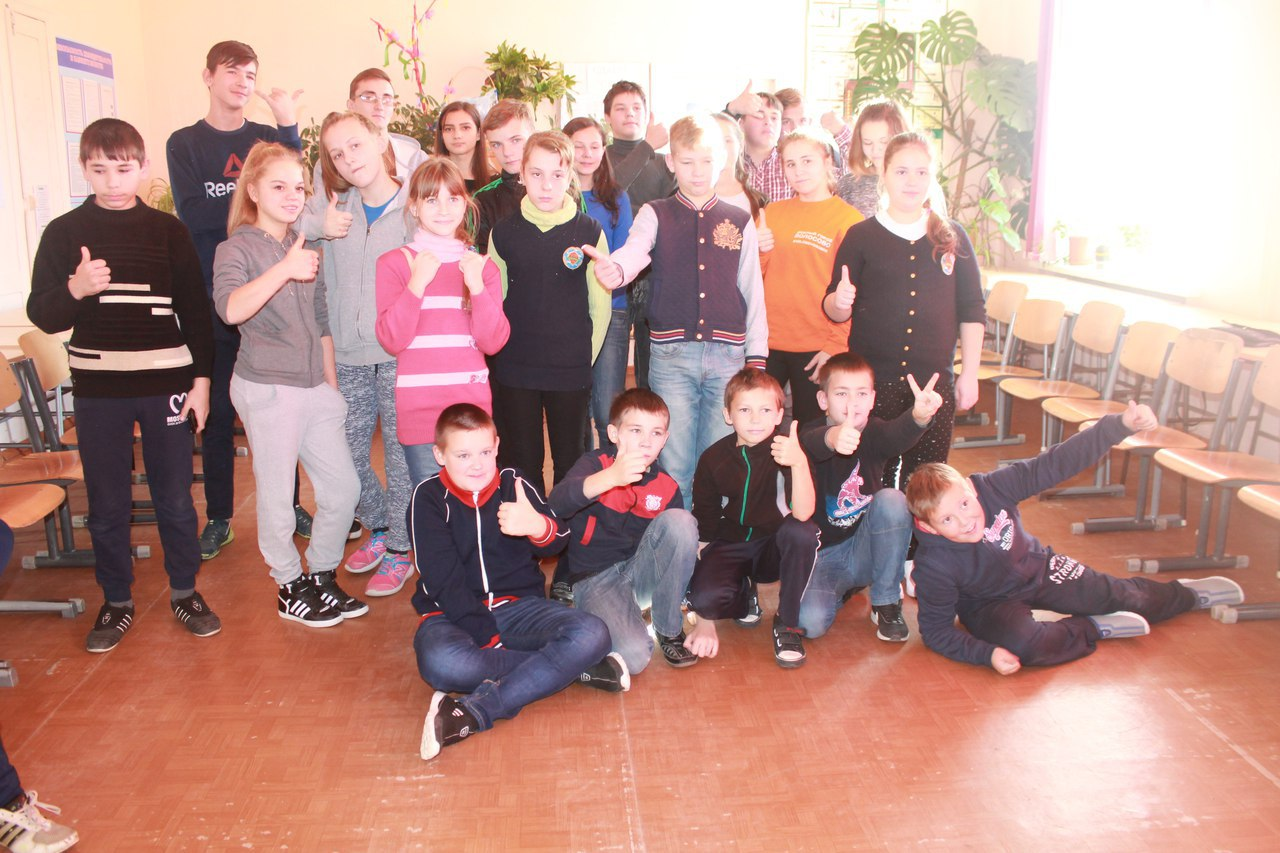 Школа актива 2017 в Кикеринской школе