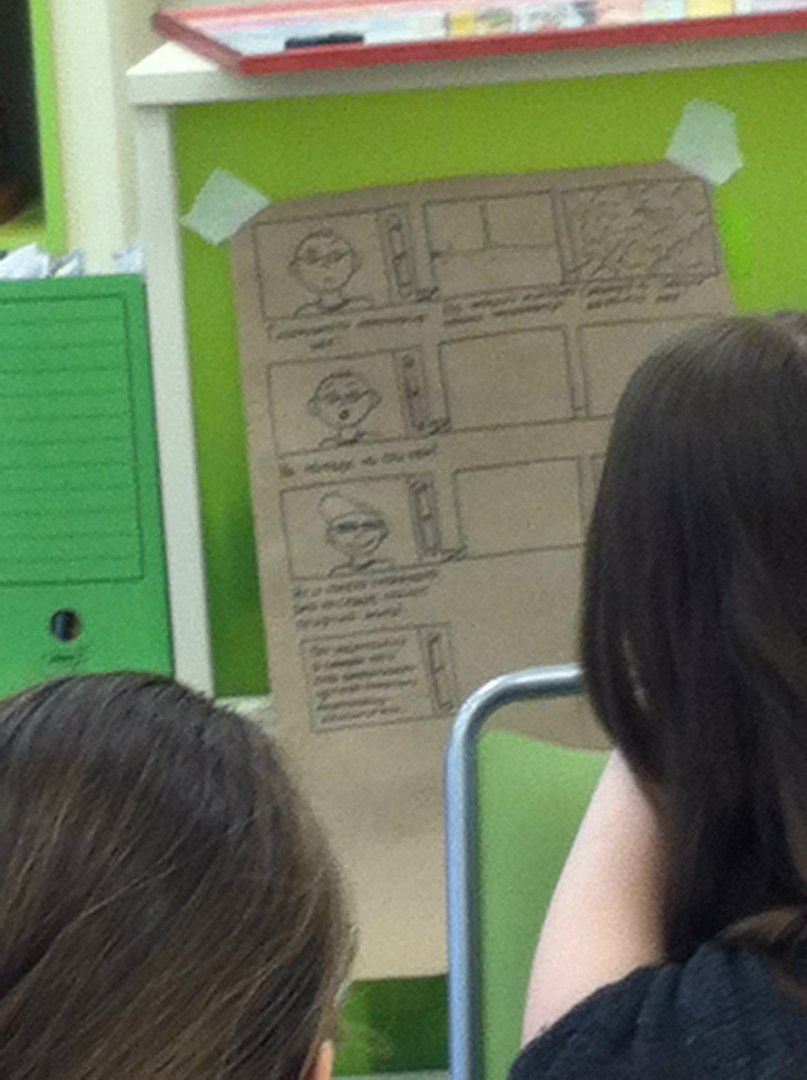 Участвуем в создании  экологического мультфильма