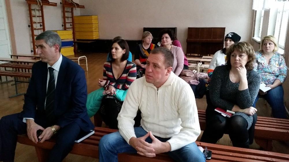 Заседание управляющего совета школы декабрь 2016